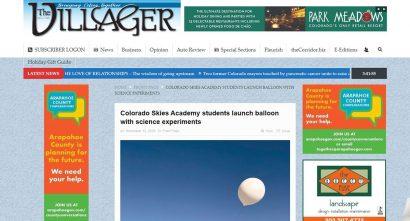 Colorado Skies Academy Science Experiment