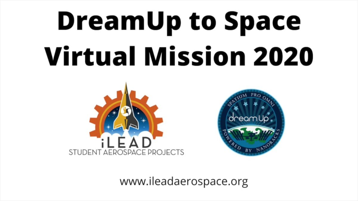 DreamUp to Space Virtual Mission 2020