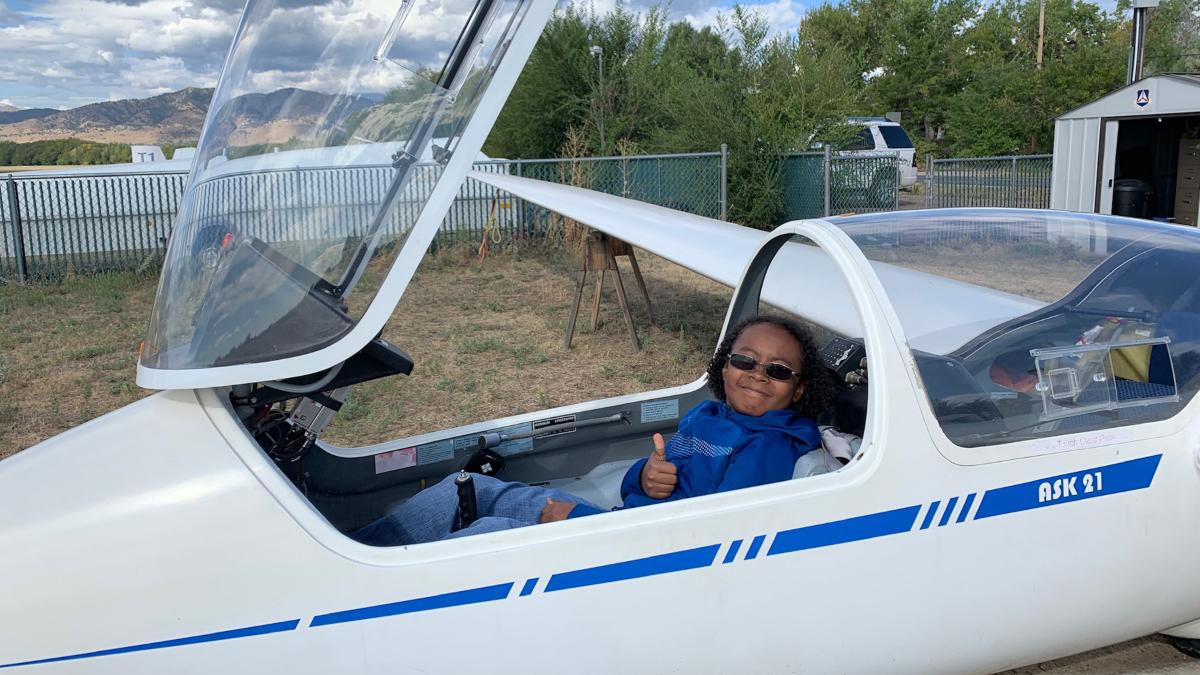 Colorado Skies Academy Glider