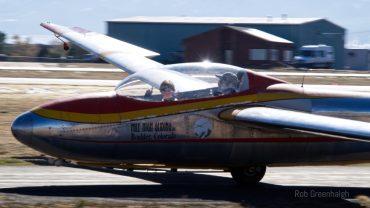 Colorado SKIES Academy learner flying glider