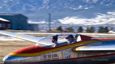 Colorado SKIES Academy learner flies glider