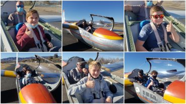 Colorado SKIES Academy learners glider day