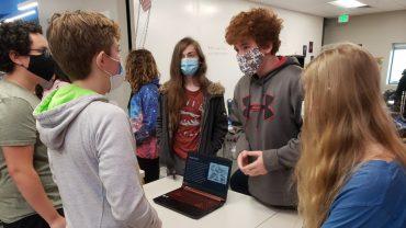 Colorado SKIES Academy students